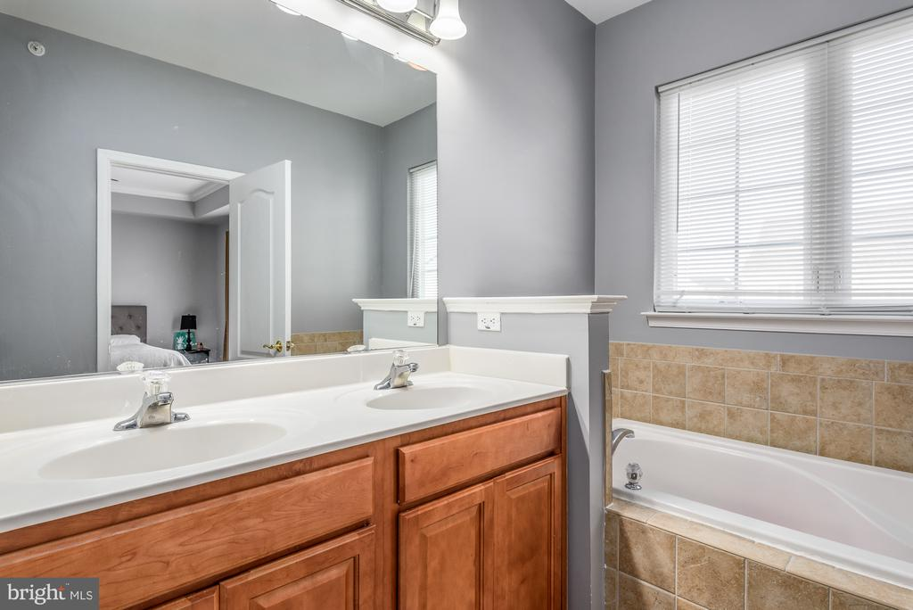 SOaking tub, dual sinks and separate shower - 7107 LITTLE THAMES DR, GAINESVILLE