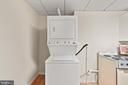 Basement Stackable Washer/Dryer - 9434 STILSON DR, MANASSAS