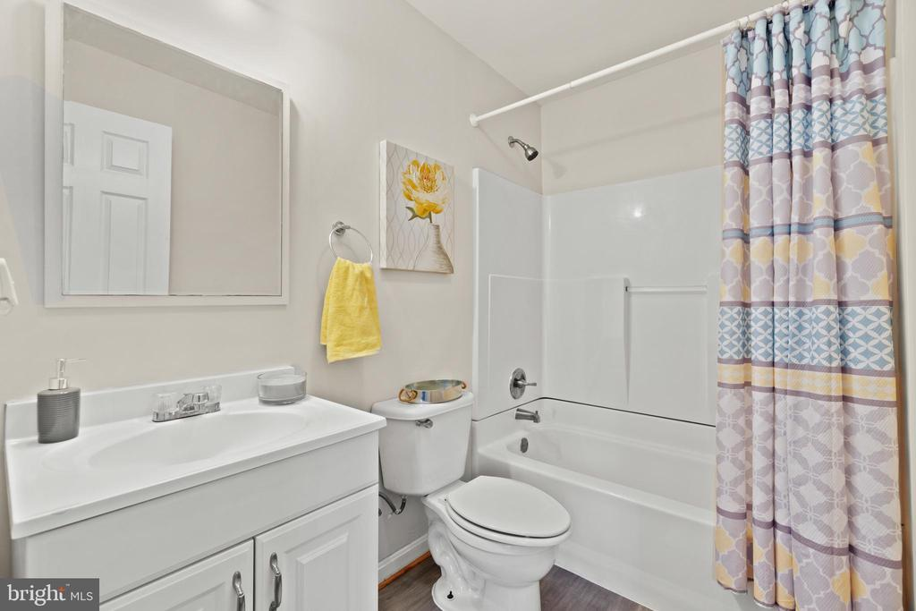 Basement Full Bathroom - 9434 STILSON DR, MANASSAS