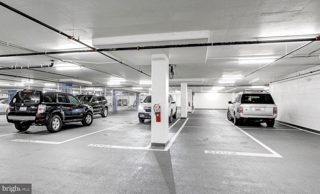 Two assigned garage parking spaces - 925 H ST NW #810, WASHINGTON