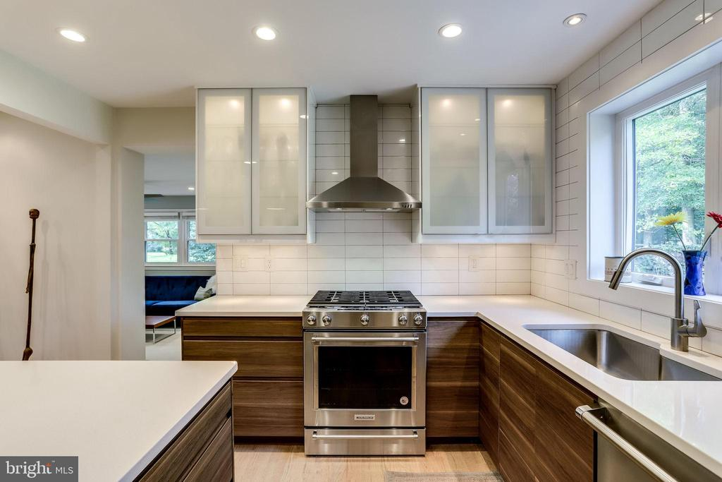 Gorgeous Contemporary Cabinets & Hood! - 11914 WAYLAND ST, OAKTON