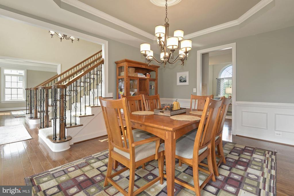 View from dining room to foyer - 20669 PERENNIAL LN, ASHBURN