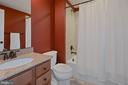 Full bath in basement - 20669 PERENNIAL LN, ASHBURN