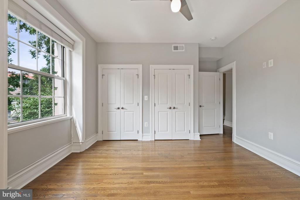 Wall of Closets in Main Bedroom - 1801 16TH ST NW #105, WASHINGTON