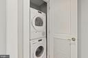 In Condo Washer/Dryer - 1801 16TH ST NW #105, WASHINGTON