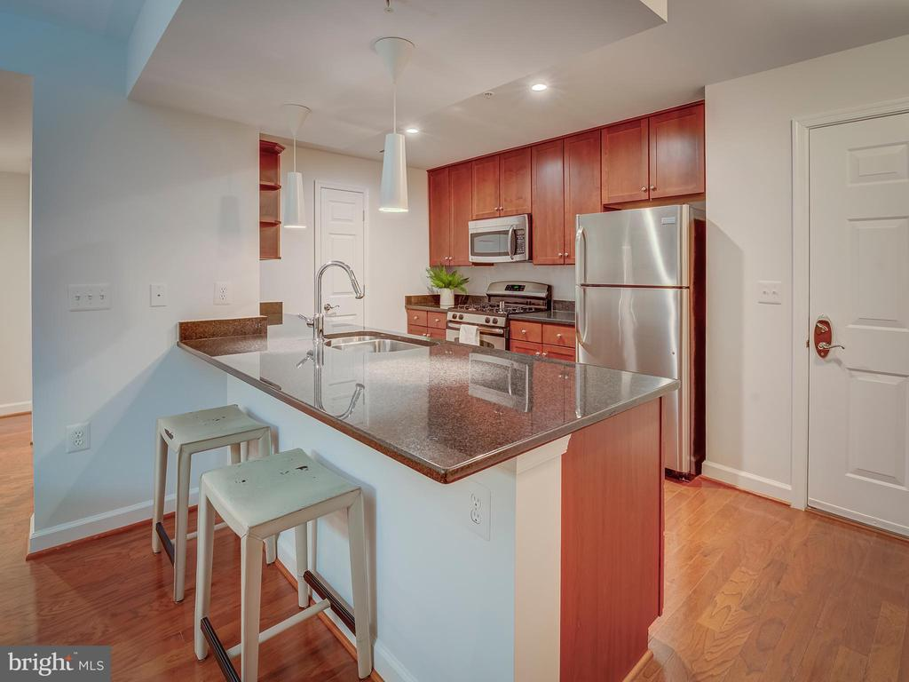 Kitchen bar - 4141 S FOUR MILE RUN DR #104, ARLINGTON