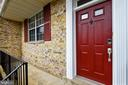 Main Level Railed Front Porch - 21115 FIRESIDE CT, STERLING