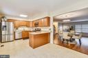 Spacious Kitchen - 21115 FIRESIDE CT, STERLING