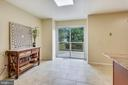 Breakfast Area, perfect for morning coffee - 21115 FIRESIDE CT, STERLING