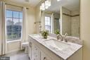 Large his & Hers Vanity with Granite counter! - 21115 FIRESIDE CT, STERLING