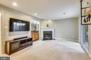Cozy Fireplace - 21115 FIRESIDE CT, STERLING