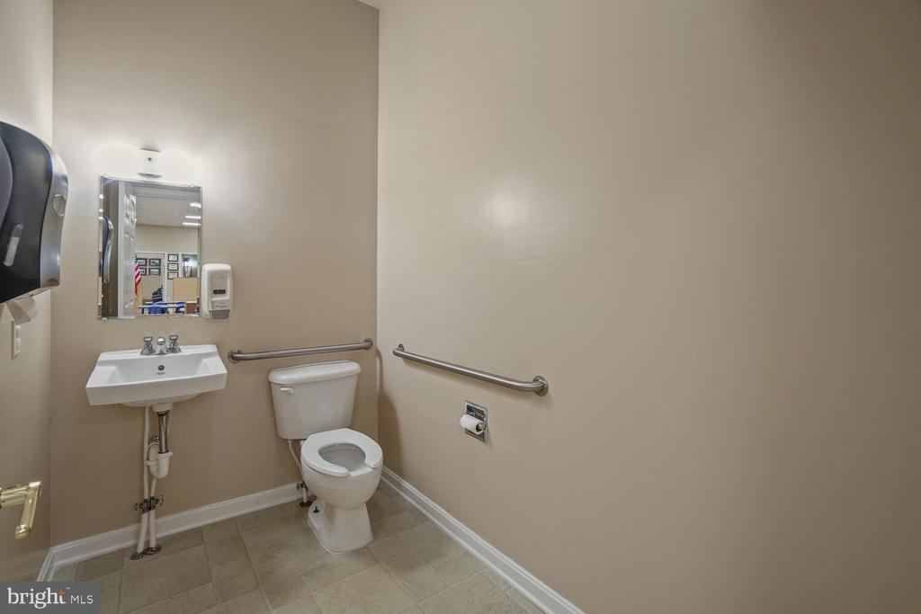 3rd of 3 bathrooms in learning center/daycare - 11829 CASH SMITH RD, KEYMAR