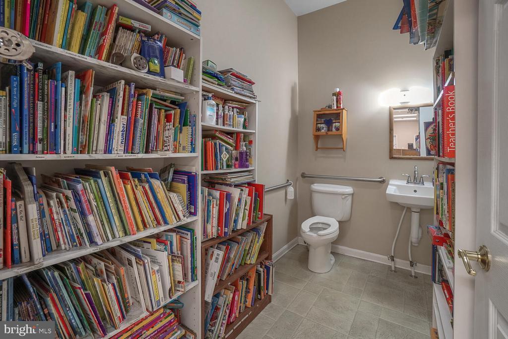 1st of 3 bathrooms/storage - 11829 CASH SMITH RD, KEYMAR