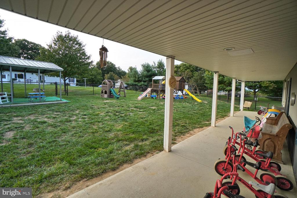 Covered area of leaning center/daycare - 11829 CASH SMITH RD, KEYMAR
