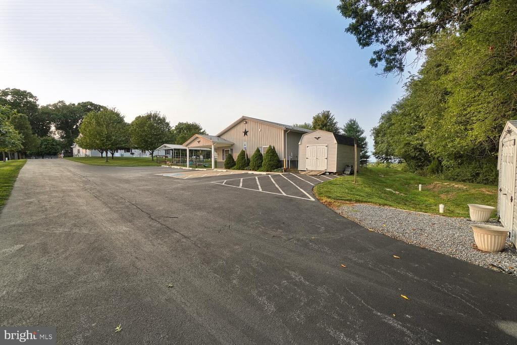 Parking area of learning center/daycare - 11829 CASH SMITH RD, KEYMAR