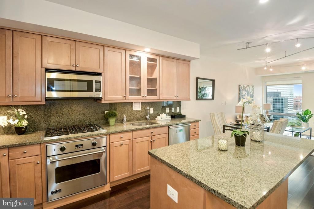 Gourmet kitchen - 1111 19TH ST N #1706, ARLINGTON