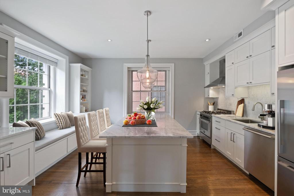 Eat In Kitchen - Stainless Steel Appliances - 1801 16TH ST NW #105, WASHINGTON