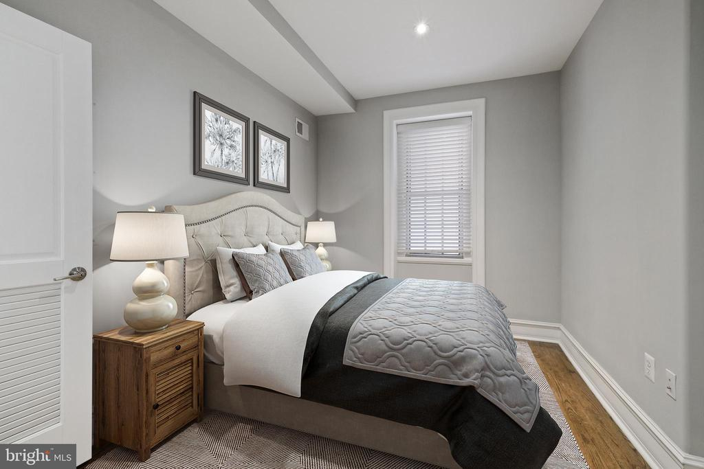 Second Bedroom with Its Own Bath - 1801 16TH ST NW #105, WASHINGTON
