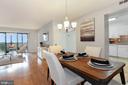 Dining area - 1600 N OAK ST #308, ARLINGTON