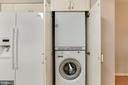 Washer/dryer hidden behind cabinets - 1600 N OAK ST #308, ARLINGTON