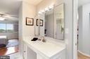 Brand new vanity in owner's suite! - 1600 N OAK ST #308, ARLINGTON