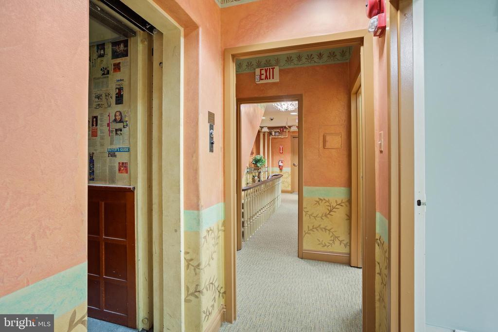 Elevator - 1604 K ST NW, WASHINGTON