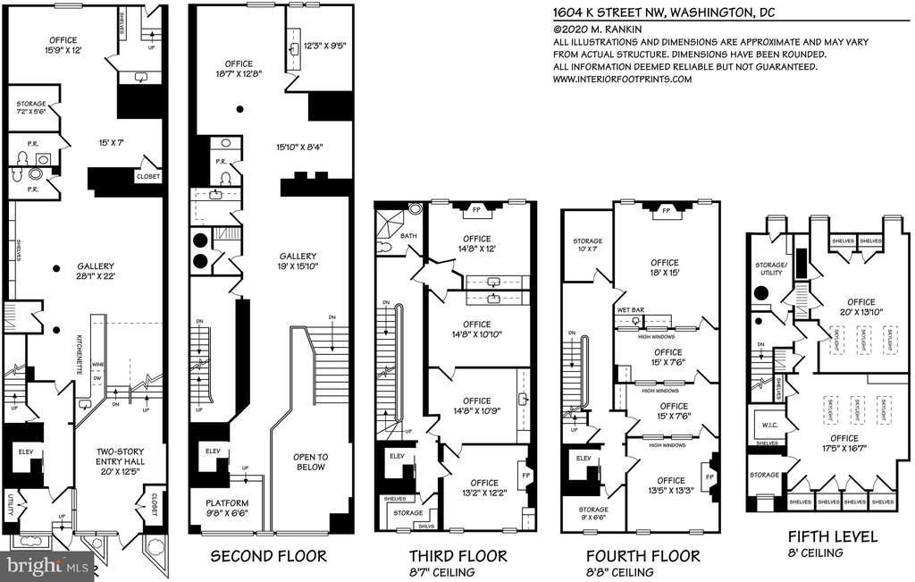 Floor Plan - 1604 K ST NW, WASHINGTON