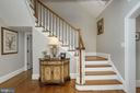 Front Staircase - 3629 N VERMONT ST, ARLINGTON