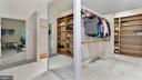 Closet-Her domain Full-length mirror. Hi-ceiling. - 1414 WYNHURST LN, VIENNA