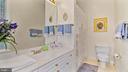 BR #2 of 6-Has ensuite bath w/ big mirror/window. - 1414 WYNHURST LN, VIENNA