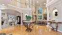Foyer - Architectural Openness, lines-of-sight. - 1414 WYNHURST LN, VIENNA