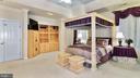 Master Suite-Recessed shelving/TV, sitting area - 1414 WYNHURST LN, VIENNA