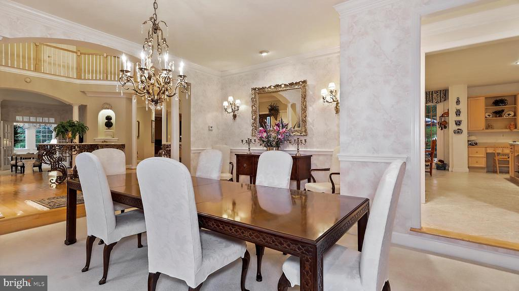 Dining Room-Expand to Foyer(20-30) and Sun Rm(40). - 1414 WYNHURST LN, VIENNA