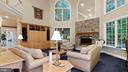 West Wing-Hall to Powder, Study and Sun rooms. - 1414 WYNHURST LN, VIENNA