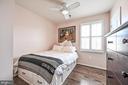Third Level Second Bedroom, Hardwood Floor - 43213 DEPASCALE SQ, ASHBURN
