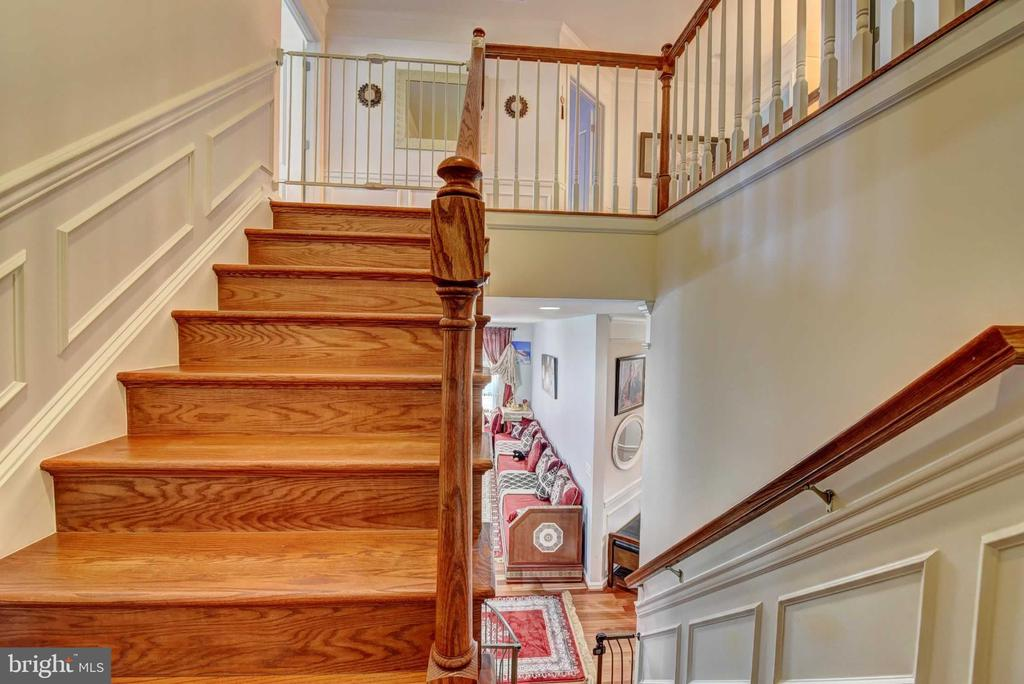 Stairs - 42340 ABNEY WOOD DR, CHANTILLY