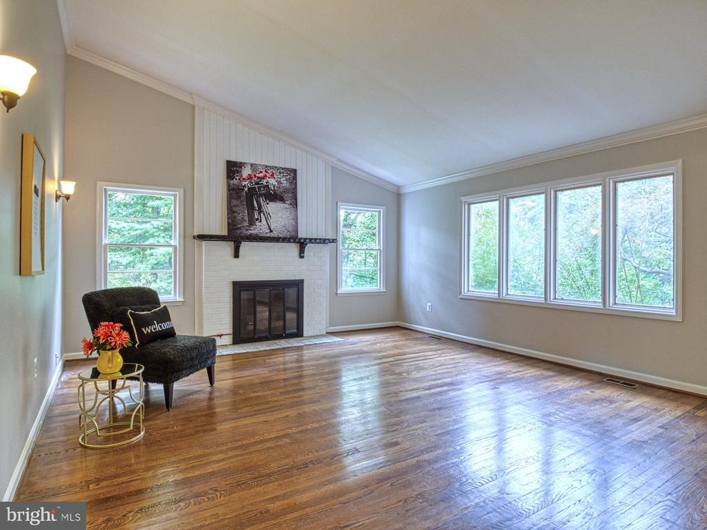 FAMILY ROOM FLOODED WITH NATURAL LIGHT - 1566 DRANESVILLE RD, HERNDON