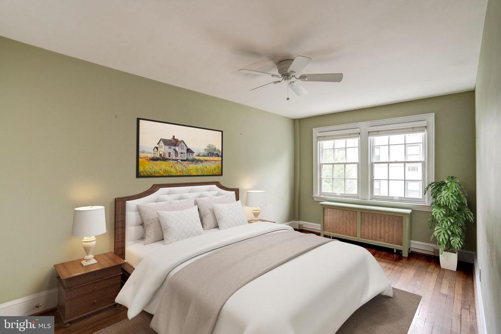 Bedroom 3 - 2706 CORTLAND PL NW, WASHINGTON