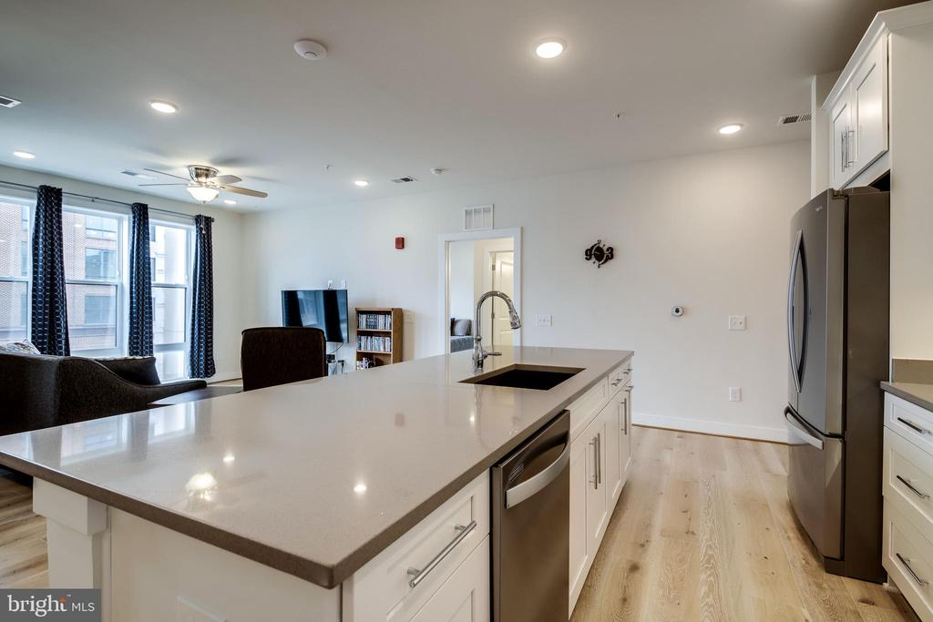 Kitchen Island - 11200 RESTON STATION BLVD #402, RESTON