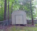 Storage shed - 6012 BATTLEFIELD GREEN DR, FREDERICKSBURG