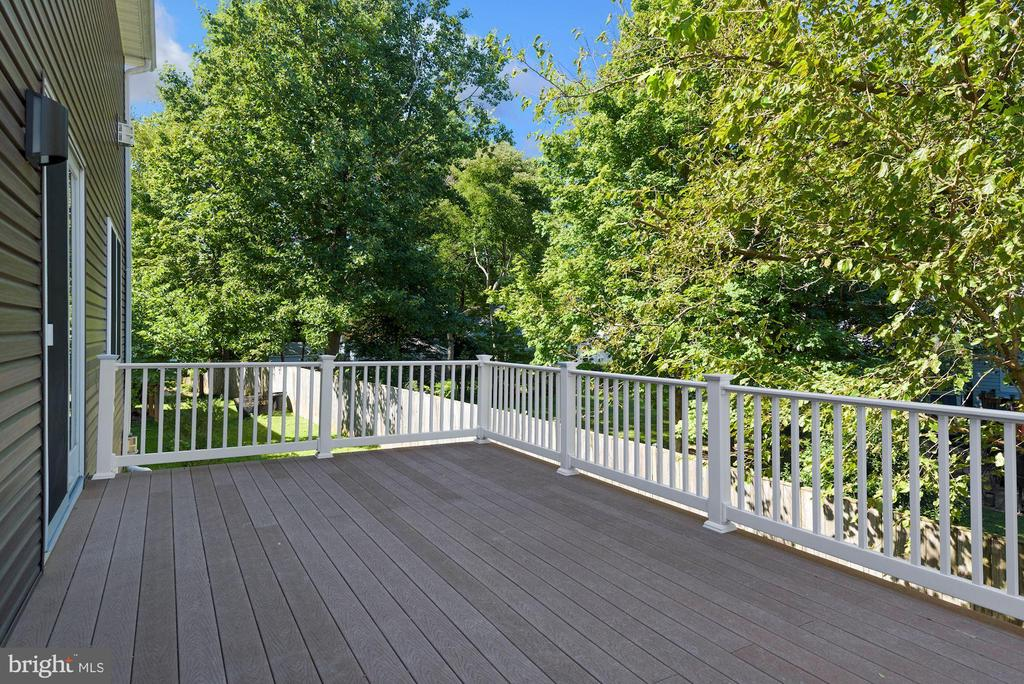 Large Outdoor Deck - 1903 KERMIT RD, SILVER SPRING