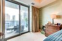 Master Bedroom With Access To Balcony - 1881 N NASH ST #1411, ARLINGTON