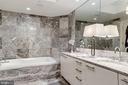 Spacious Master Bathroom - 1881 N NASH ST #1411, ARLINGTON