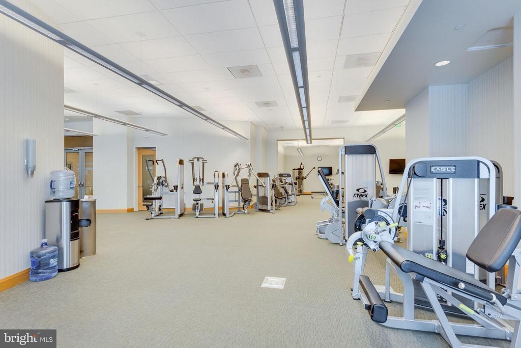 Fitness Center - 1881 N NASH ST #1411, ARLINGTON
