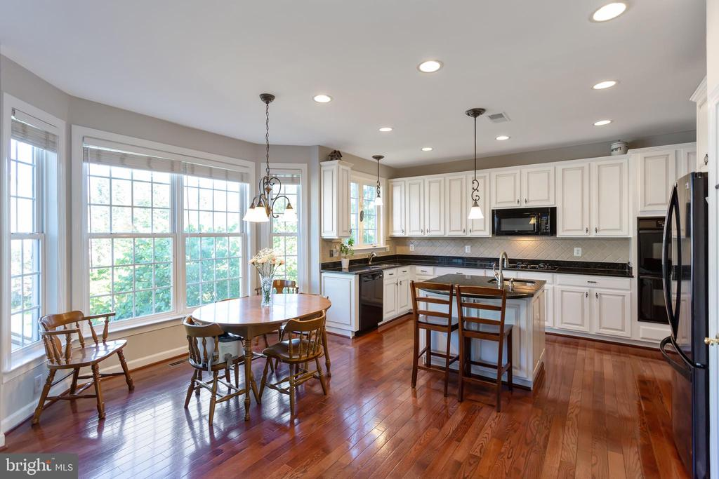 Kitchen view from family room - 19198 SKINNER SQ, LEESBURG