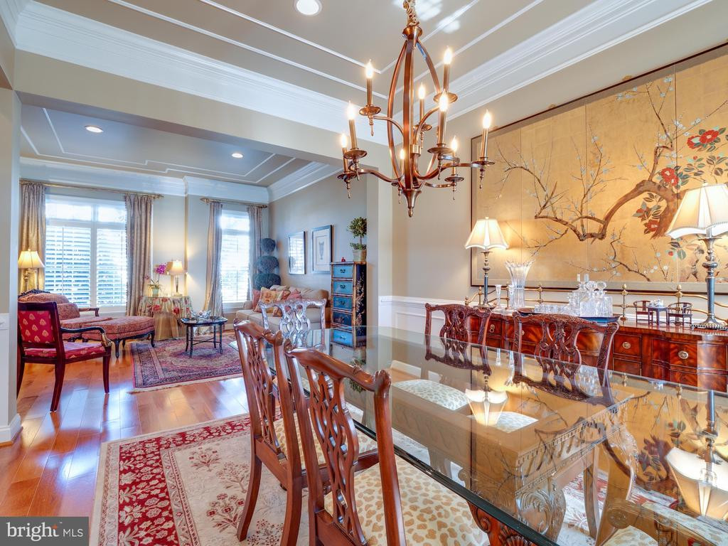 Spacious Dining Room to host for the Holidays - 18979 COREOPSIS TER, LEESBURG