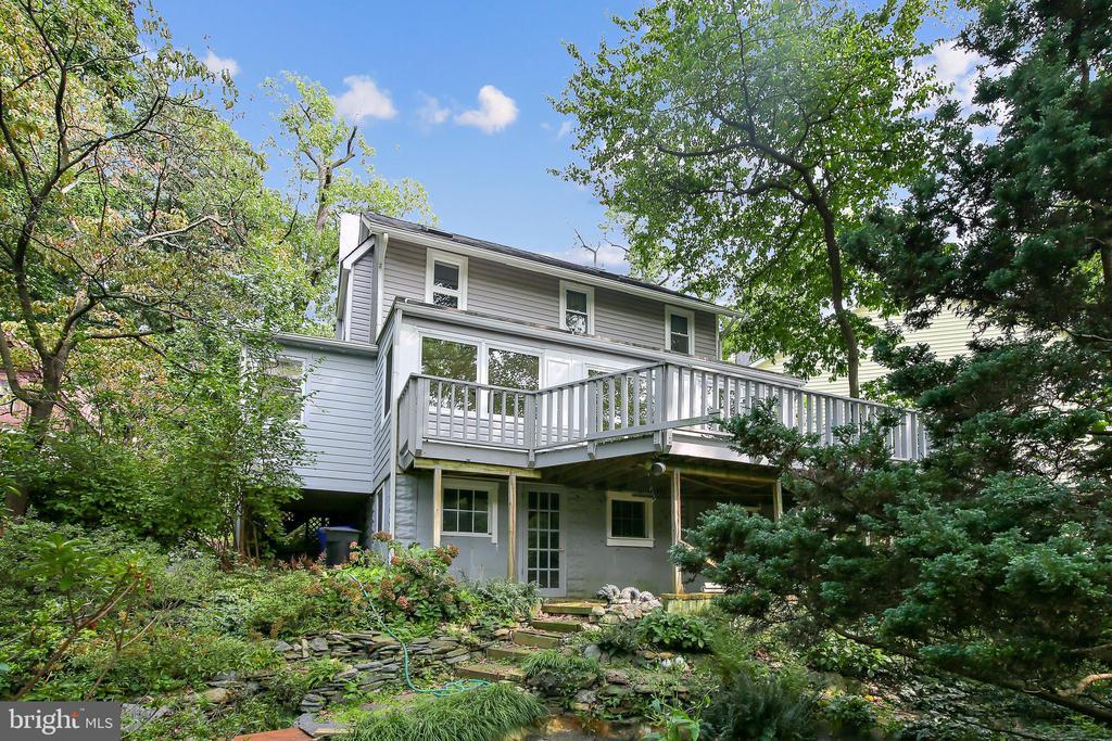 Rear View of house - 2922 24TH ST N, ARLINGTON