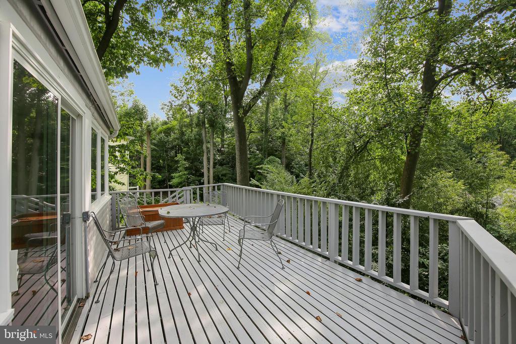 Deck off Sun Room and Dining Area - 2922 24TH ST N, ARLINGTON