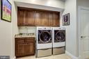 Remodeled laundry room - 2124 POLO POINTE DR, VIENNA