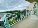 Sky Balcony views - 501 SLATERS LN #906, ALEXANDRIA